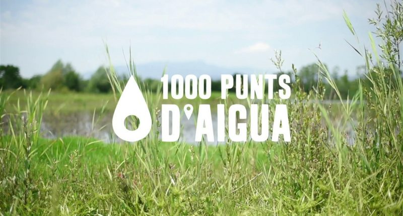 1000 punts d aigua