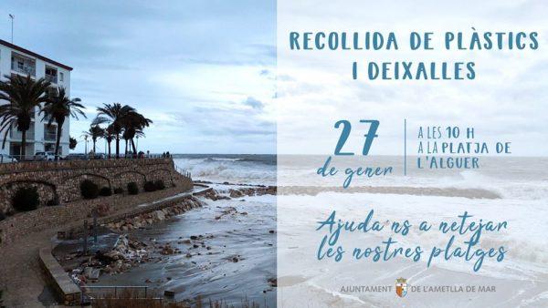 Ametlla de mar recollida 27 gener