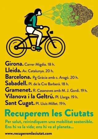 Bicicletada Recupere La Ciutat ciutats