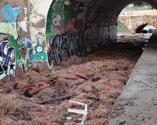 Platja llarga algueró tunnel
