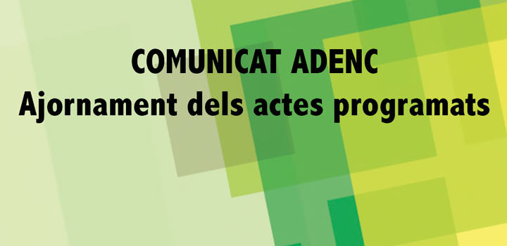 coronavirus Adenc_adenc_comunicats_COVID19-720x350