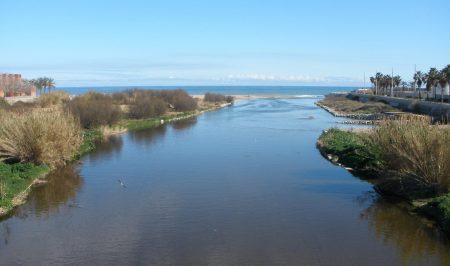 desembocadura del Besòs