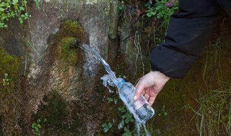 Mostreig de les fonts d'aigua