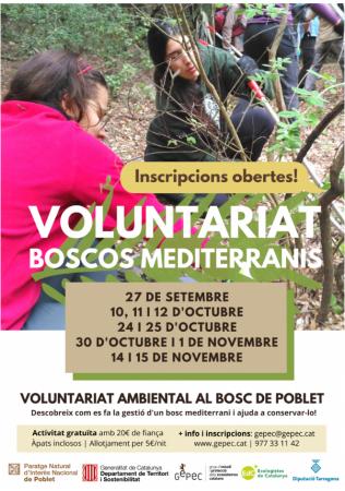 gepec boscos mediterranis 2020 cartell