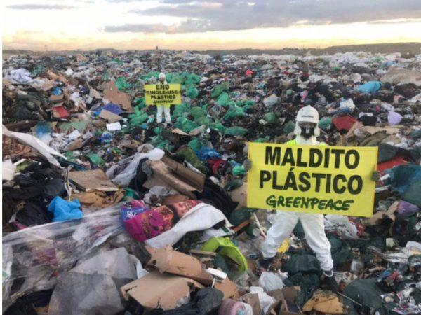 greenpeace maldito plastico