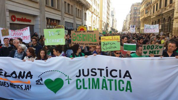 justicia climatica barcelona