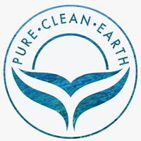 logo pure clean earth