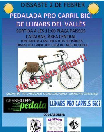 pedalada llinars