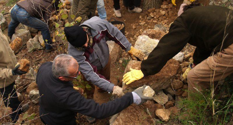 voluntariat per la pedra seca