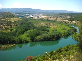 riu Ebre a Flix
