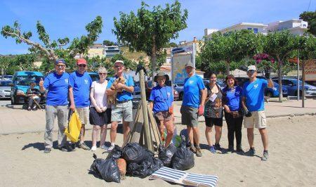 Voluntariat ambiental amb Platges Netes Llançà