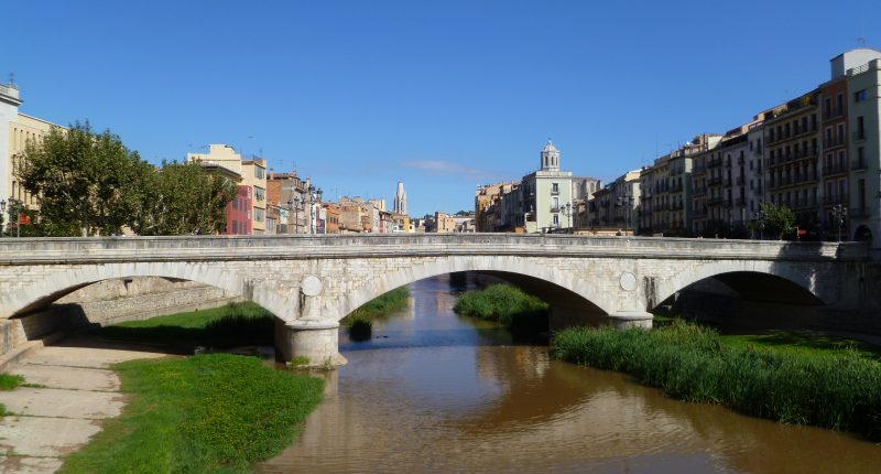 riu Onyar Girona pont de pedra