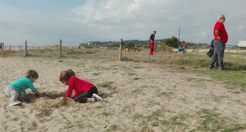 Voluntariat a les dunes d'Altafulla