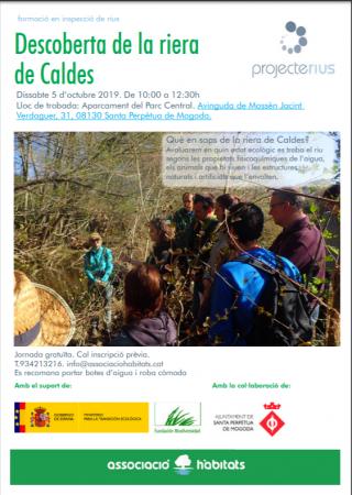 voluntariat ambiental Habitats riera Caldes