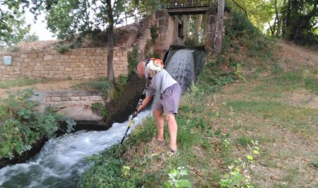 Voluntariat ambiental a la Banqueta de Juneda