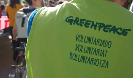 voluntariat greenpeace
