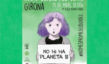 19 març Girona vol amb