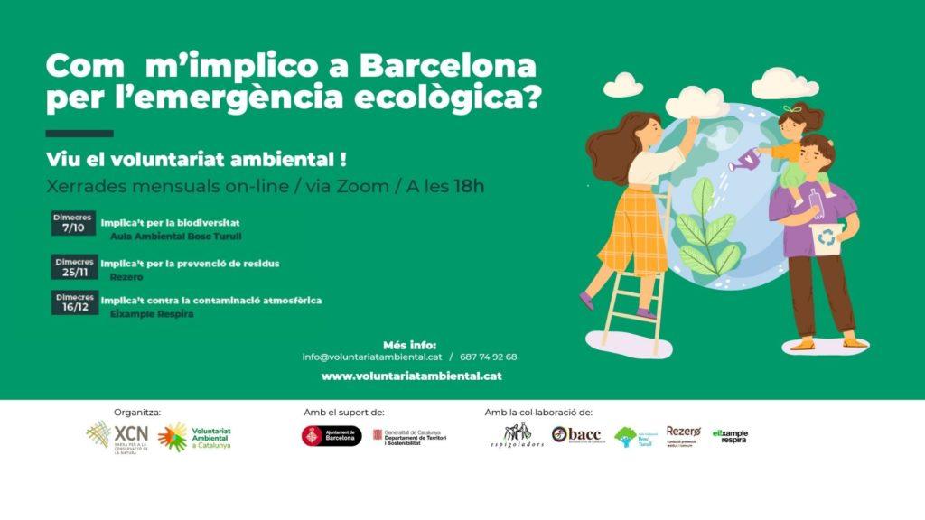 Jornades voluntariat ambiental Barcelona