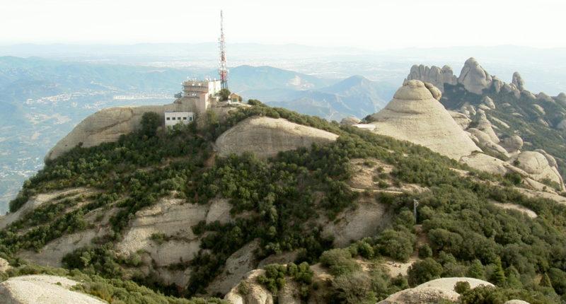 Greenpeace_Vista_des_de_Sant_Jeroni-Montserrat
