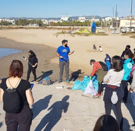 garraf platja clean your beach project