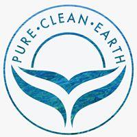 logo pure clean earth